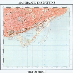 Maps on Album Covers: Martha and the Muffins via Map of the Week