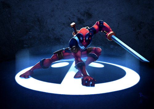 herochan:  They Call Me Deadpool  - by Josh Frost Blog || deviantART