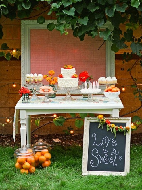 ilovehoneylace:  Love those jars full of oranges!