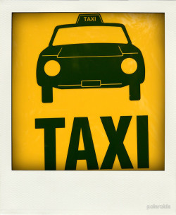 "Just sold this polaroid poster:  (via Buy ""Taxi…"" Poster by polaroids [3470519] - RedBubble.com)"