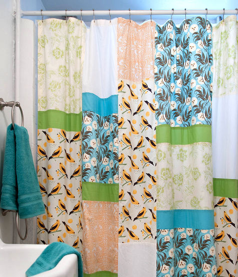 pattern: curtains pattern & tutorial via Design Sponge