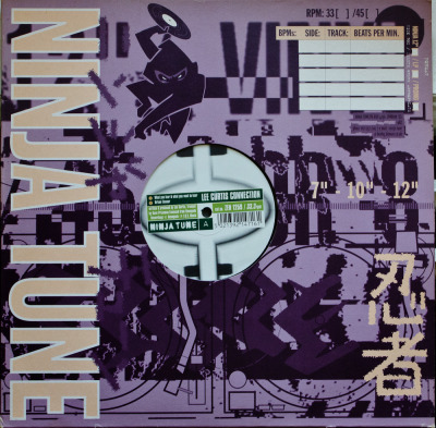 "Lee Curtis Connection / Wild Palms - Two Track Mind (12"") Label: Ninja Tune Cat#: ZEN 1259 TripHop/Downtempo/Breakbeat, UK, 1997 Discogs Note: Split 12"" with Lee Curtis Connection on side one & Wild Palms on side two. The Wild Palms song below was the only one I could find from this release. All the tunes on it are pretty good though. You can preview them on Discogs by clicking the tracknames on there."