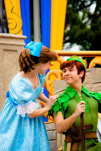 belleieve:  Peter Pan and Wendy (by abelle2)