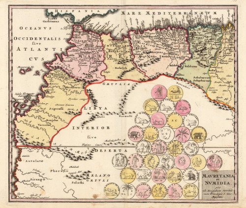 Christoph Weigel, 1719, Morocco & Northern Africa