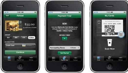 3 million people have used the Starbucks app to pay for their coffee making it the nation's largest mobile payment network. http://tinyurl.com/4ktt2ua