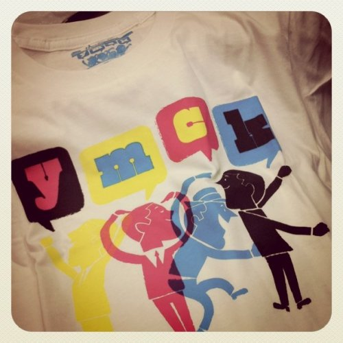 @threadless Just got my YMCK shirt. Love it!! :) (Taken with instagram)