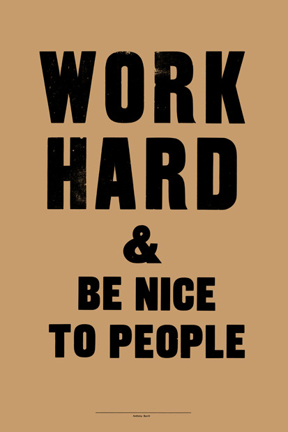 by Anthony Burrill