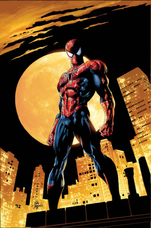 the-queens-deck:  Artwork by Mike Deodato Jr. Amazing Spider-Man #528  Been a fan of Mike Deodato Jr since I first heard of his work.  Great guy!  You can also find his work on Deviant Art.