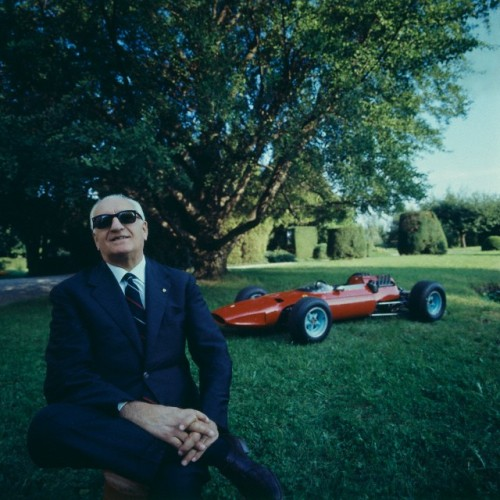 via theimpossiblecool:  Enzo Ferrari. photo by Manuel Litran, 1965  Enzo Ferrari. Serious Badass.