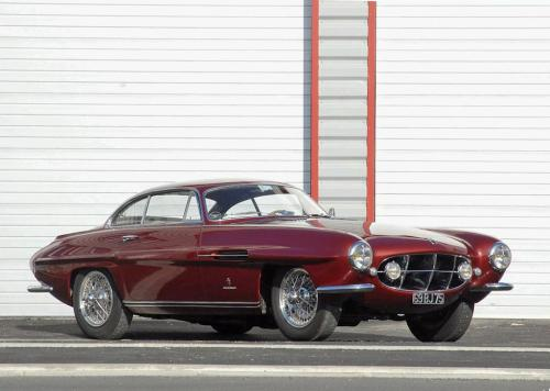 Jaguar XK120 Ghia Supersonic Coupe — I thought the Fiat 8V was the only of its kind. Apparently, there is something else! A very pretty Ghia design as well.  via cartefact