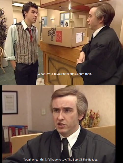 Alan Partridge on the Beatles.