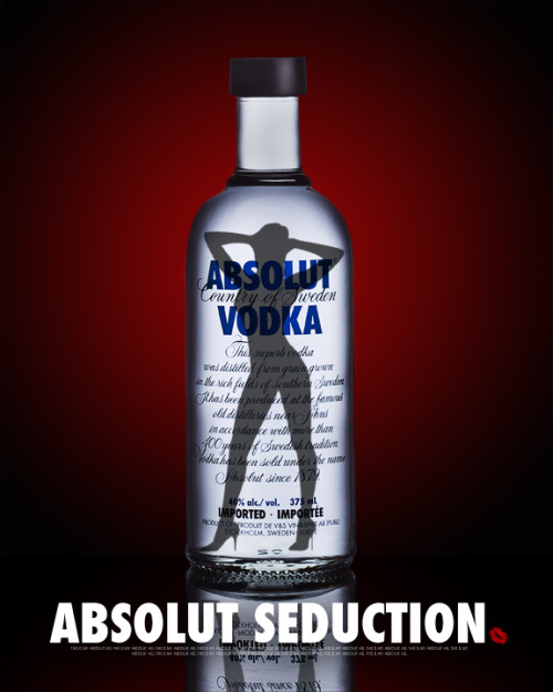 Absolut ad shot for a school assignment. :)
