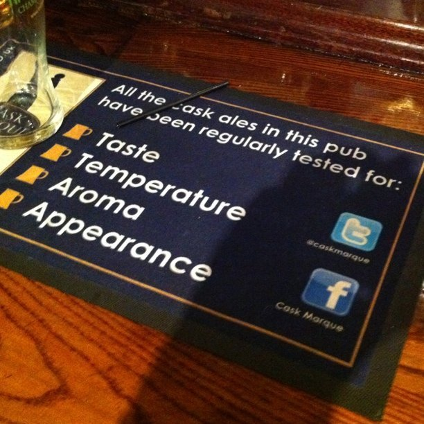 Twitter on bar mats now. These lads Are well 'didge' (Taken with instagram)