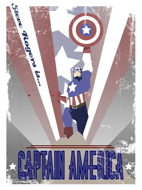 Captain America by ~Jegang