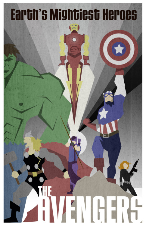 The Avengers by ~Jegang