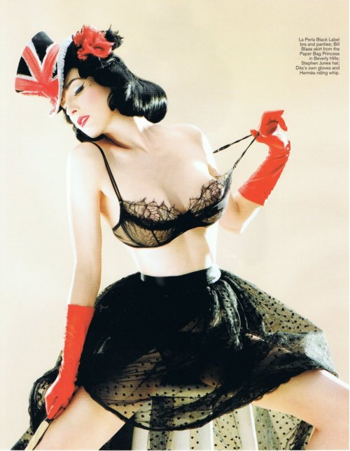 suicideblonde:  Dita von Teese photographed by Sheryl Nields