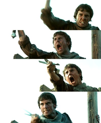 malo1800:  The many faces of 'attack,' as demonstrated by Sam Claflin. :D