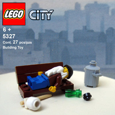 Set 5327 - City Bum (by +Khorne)