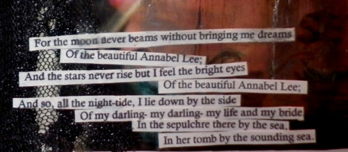 a part of 'annabel lee' by edgar allan poe from my book.