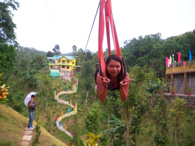 memorable experience hahaha sarap mg zipline:))) ganda din sa la virginia  love it :))