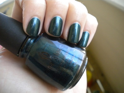 China Glaze - Emerald Fitzgerald