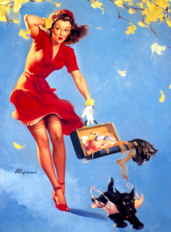 I love pin-up girls (and have always secretly wished I could be one).