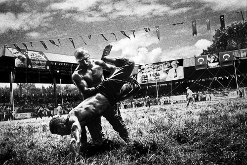 Historical Kirkpinar Oil Wrestling (since 1361)  via http://www.paridukovic.com/kirkpinar.htm
