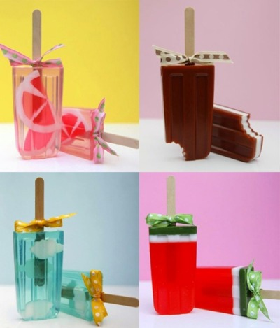 binaeule:  soap-popsicles