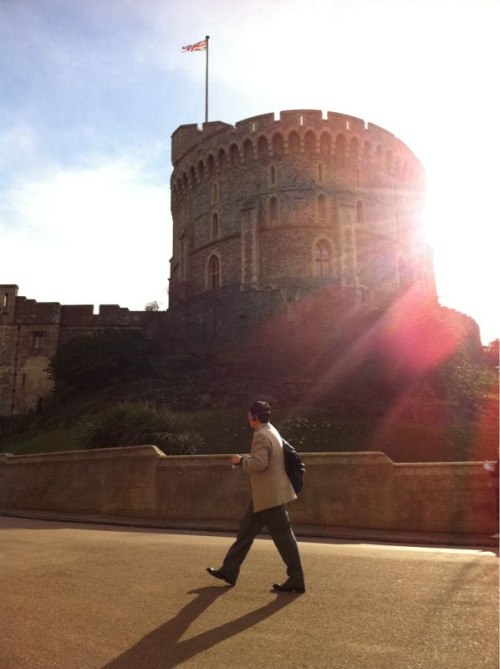 Windsor Castle is the 1st stop :) Beautiful!
