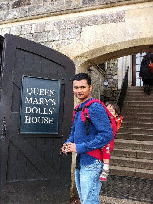 Going into Queen Mary's Doll House