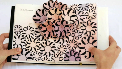 somuchsass:  Bodoni Bedlam: Typographic Pop-Up Book Lovely.