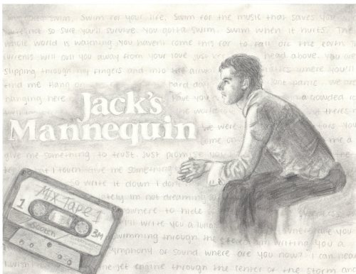 Jack's Mannequin. 2009. Graphite on Paper.