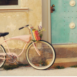 I've always wanted a bicycle like this. That retro charm just makes me sigh.