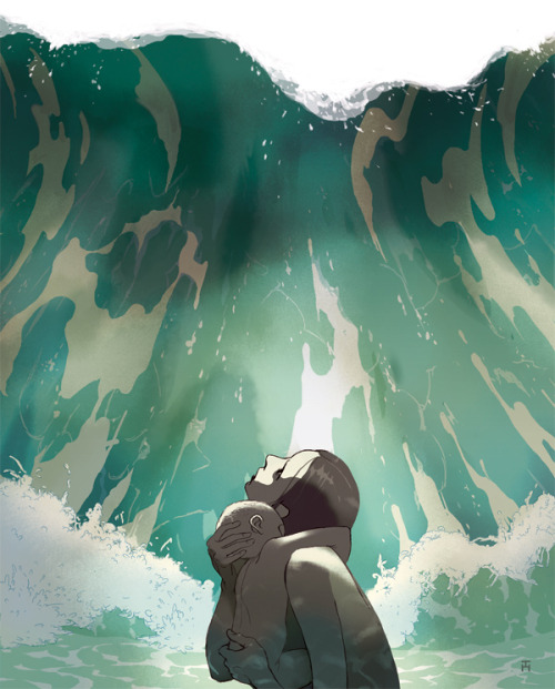Swallowed by the Sea by Tomer Hanuka