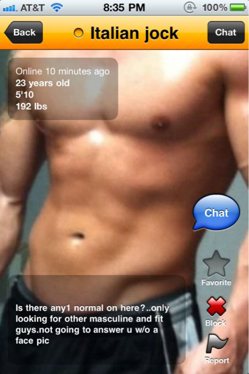 Why are men on Grindr so dichotomous?