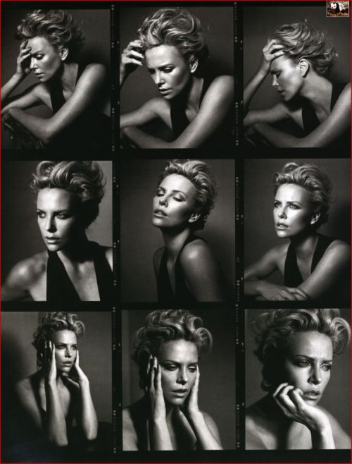 Charlize Theron for GQ Magazine. Previously, on FB Spin, Charlize Theron looking gorgeous.