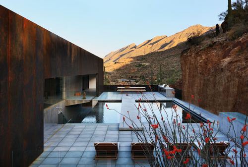 ventana canyon house/rick joy architects via: architectslist