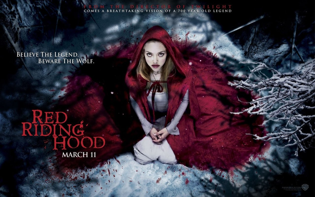 "Review: Red Riding Hood (released March 2011) The impression. From the directors of Twilight….and it`s about a wolf. Enough said. Then the title of the movie makes me think: it`s a spin off of the Little Red Riding Hood. Which was a story I sort of lik—Well, no it was just a story I grew up with. But the trailer was still enough to have me set on watching it. I walked in expecting a spin off of the Little Red Riding Hood, with a Twilight twist on it and quite a bit of sexual content. Here is that trailer: click.  The introduction. Everything begins with an aerial view of the mountains and this random village in the middle of no where. (This part actually made my head spin, perhaps they could have slowed down the 'flight') Anyway, as soon as it started, I realized it was very unlike the Little Red Riding Hood. Right away, we`re introduced to our female protagonist at a young age, Valerie and her to be lover when she grew older, Peter of course breaking rules. And the obvious fear and distress of the villagers of some mysterious wolf, to the point where they barricaded their village at night. The action. There was plenty of suspense: whenever the suspenseful music came on and then whenever the camera view made you believe the wolf was watching. Father Solomon was a lunatic, his fighters weren`t that impressive. I think some killings were very unnecessary. Some of the gore was just.. pathetic but cleverly filmed so that it didn`t ruin the movie. The ending. After everything: finding out her father is the werewolf everyone is hunting, (the very werewolf who killed her sister, Henry`s father and close friends) finding out she is the daughter of a werewolf, that she comes from a long line of werewolves.. Her lover BECOMES a werewolf (after getting bitten, sigh Twilight twist, as said) and she ends up waiting for him to return…while living in the very house where her grandmother and father both died? Rather, where she KILLED her father? Well, at least she seems content waiting for her werewolf lover to come back. The plot. I never suspected her father to be the wolf. It was like a giant game of guess who for the entire duration of the movie. The audience is misled into believing that Peter is the wolf, the grandmother is the wolf (because of the dream where Valerie and her grandmother reenact the classic ""What big eyes you have, grandmother?"" scene), Henry is the wolf, or even the autistic kid was the wolf. And of course, we can`t forget our protagonist who is in the ever  typical love triangle. Arranged marriage to someone she doesn`t love,  and apparently blacksmiths make more money than wood choppers? Then you are introduced to Father Solomon who as said, is a crazy lunatic who is set on killing the werewolf, having killed his own wife before who was also a werewolf. Right.. Our protagonist is a strong character, but interestingly enough.. She`s also 'courageous' enough to dissect her father once he`s dead, to put stones into his body so that when they disposed of him into what is presumed the ocean (EVEN THOUGH they live on a mountain…? Perhaps it was a lake.) he`d sink to the bottom. They even showed the scene where she stitches him up.. There are some controversial points in the plot. But it pulled together somehow at the end, any questions I had about anything were answered with a jam-packed ending. The cast. I have not much to say on the cast. I loved Julie Christie as the grandmother actually, she`d be my favorite actress in the movie. Shiloh Fernandez and Max Irons could have impressed me, but didn`t. Gary Oldman was an amazing serial lunatic :) Billy Burke didn`t have enough time on screen for me to have an opinion, except he blends into the crowd well. I don`t particularly favor Amanda Seyfried but she did pretty alright as Valerie; she was really the only character we ever focused on in the movie, there were barely any scenes where she wasn`t in it. The opinion. Any parent who is bringing their 8 year old to see this movie, thinking this is just a ""harmless adaptation"" as my friend puts it, please don`t. There was an 8 year old in the theatre when I watched it today, and I felt bad. There was a lot less sexual content than I thought there would be, but more than an 8 year old should be seeing if even I felt slightly uncomfortable watching. And truthfully, the dissecting of one`s father is definitely not ideal for young children. I walked out of the theatre with mixed feelings. I didn`t know where to put this movie in my mind: I didn`t hate it and I didn`t really like it either. It didn`t inspire me, I didn`t walk out the theatre enlightened with some moral.. I wasn`t boring, the suspense in the movie kept it from being anything but boring. Enjoyable I suppose, but I wouldn`t rewatch it. 3 stars."