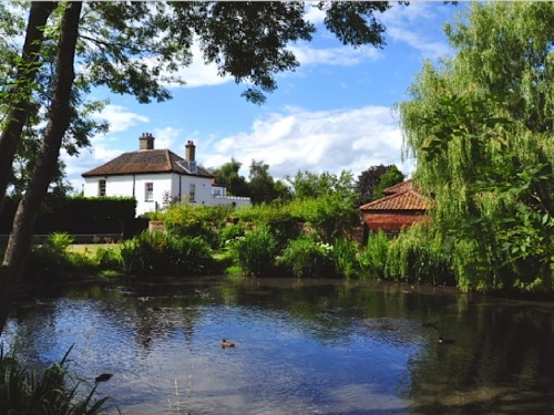 ysvoice:  | ♕ |  Suffolk summer - Somerleyton village pond  | by Eric Johnstone