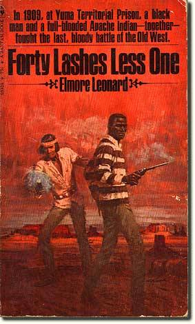 "I just finished reading Elmore Leonard's western novella Forty Lashes Less One, and man was it ever fun. If you've never read any Leonard, know that at his best he is a simply peerless writer of hardboiled crime fiction; which basically means, unapologetically interesting drama.  Quentin Tarantino has mentioned wanting to adapt Forty Lashes. (He's already done a Leonard with Jackie Brown, an adaptation of Rum Punch.) I doubt that he'll ever get around to it, but it would be an absolute blast. The book is gripping from page one, then about a third of the way in it goes from ""western"" to ""tarantinoesque"". You'll see what I mean. Get it!"