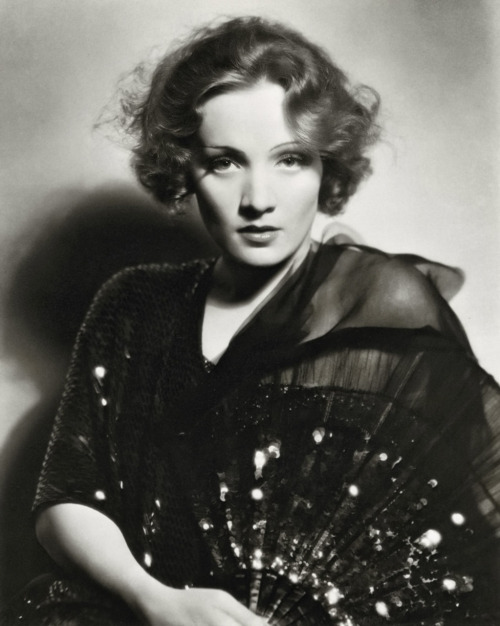 Marlene Dietrich in 1931 Photographed by Eugene Robert Richee Image Source: Dr. Macro's