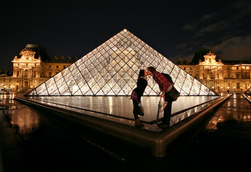 Love at The Louvre