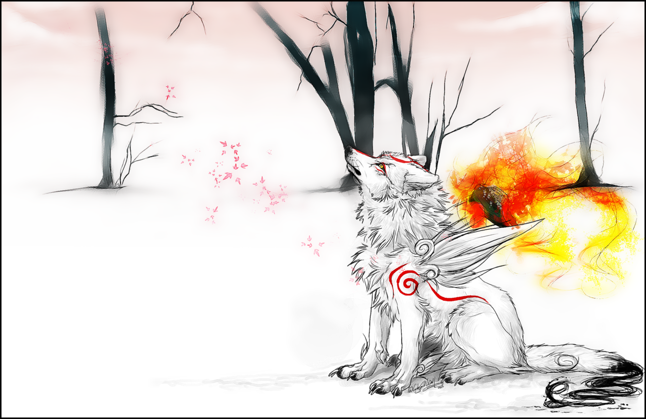Amaterasu Wintermoments by whitespiritwolf   to any of you gamers out there following me and are looking for any game recommendations check out Okami. i grantee you that you will not be disappointed x) its practically mind blowing T^T anyways question to you (if you're even bothered to answer ¬¬) do you play this game and what do you think of it???