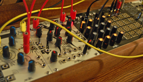 Finding some really cool applications for the Make Noise René and other gear… the next couple of videos are going to be really fun. The rumors are true… there will be a theremin in one.  Subscribe to www.youtube.com/experimentalsynth and you'll always know when the freshest videos are posted.
