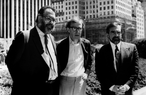 awesomepeoplehangingouttogether:  Francis Ford Coppola, Woody Allen and Martin Scorsese