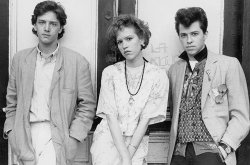 "A few weeks ago I happened to catch ""Pretty in Pink"" on tv. I was reminded of two things: how the film always makes me cry, and that my ex still has my entire film collection - and refuses to return it."