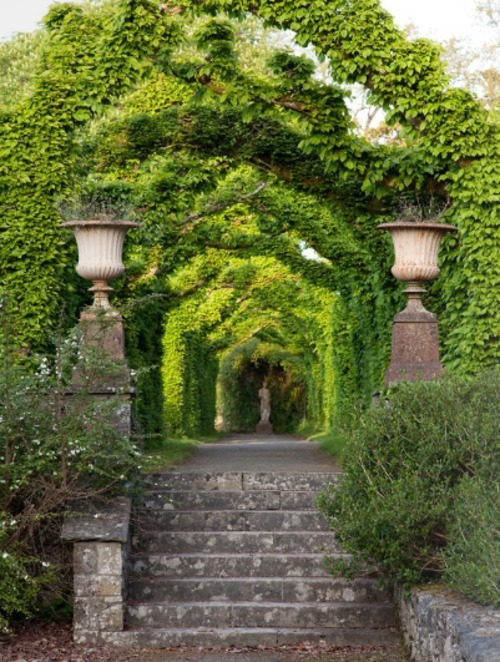 prettystuff:  crushculdesac:| ♕ |  Green arbor  | by providenceltddesign | via belleatelier
