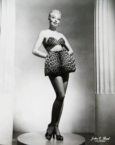vintagegal:  Burlesque dancer Lili St. Cyr 1950's