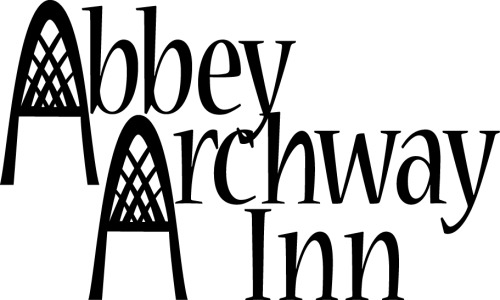 This is a starter for the Abbey Archway Logo..  I think I like it.  The A's look just like the Arches in the windows.