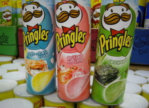101 Pringle Flavors from Around the World  Ick.